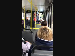 Разборки в 22 троллейбусе. 5 ноября.
