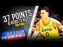 Kyle Kuzma Full Highlights 2018 10 22 Lakers vs Spurs 37 Pts 8 Rebs 3 Asts FreeDawkins