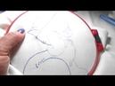 Урок по вышивке гладью № 1 Шов вперед иголку