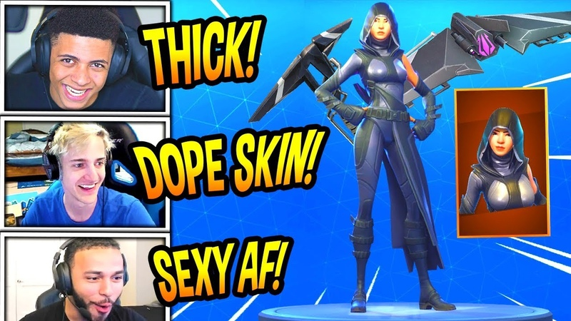 STREAMERS REACT TO *NEW* FATE SKIN SPLIT WING GLIDER! *LEGENDARY* Fortnite FUNNY Moments