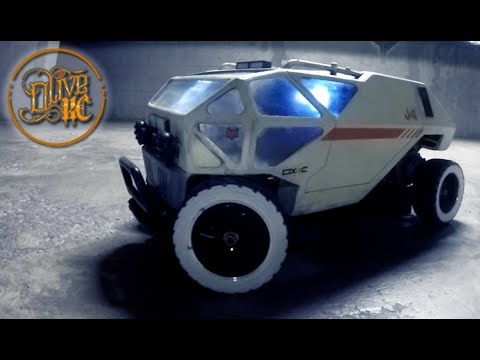 RC CHARIOT HOMEMADE body - Lost in Space (NETFLIX)