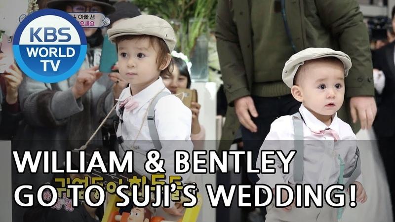 William Bentley go to Suji's wedding! [The Return of Superman/2019.01.06]