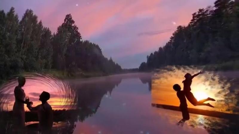 Бутырка- Зеркалом блестит река