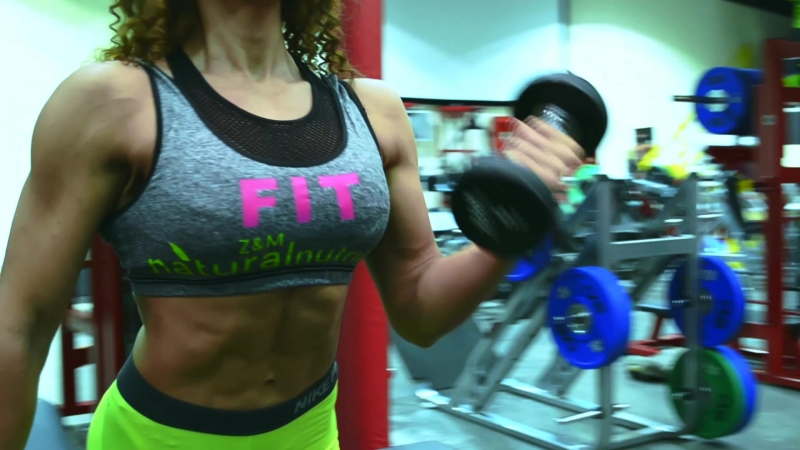 IFBB ATHLETE Elena El Kady (EK__Fitness) / sponsored by Z@M natural nutrition