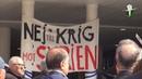 Stoppa US/GB Syrienkrig demo 350 på Sergels Torg