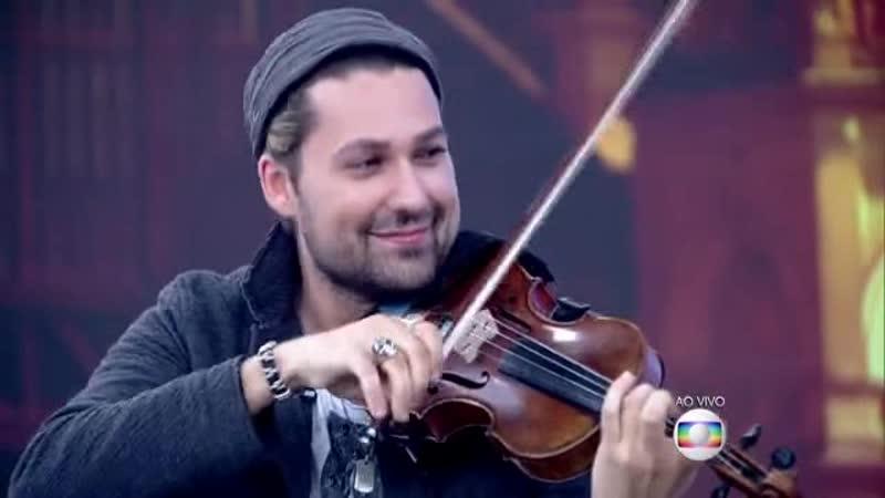 Encontro com Fátima Bernardes - Violinista David Garret é famoso por tocar músicas clássicas e hits pop (27.07.2015)