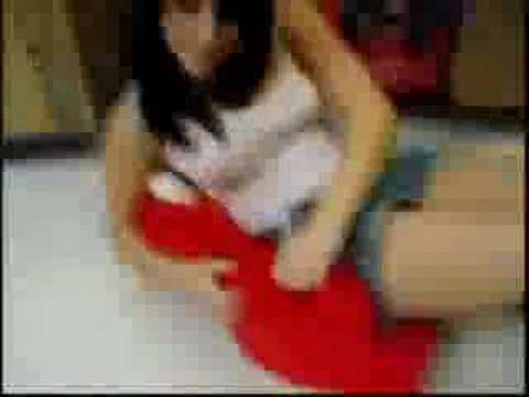 Testing the Elmo chair