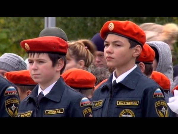 Клянемся! Клятву на верность МЧС произнесли кадеты и школьники Саратова