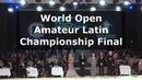 Open World Amateur Latin Championships - Disney 2018   Full Final (4K)