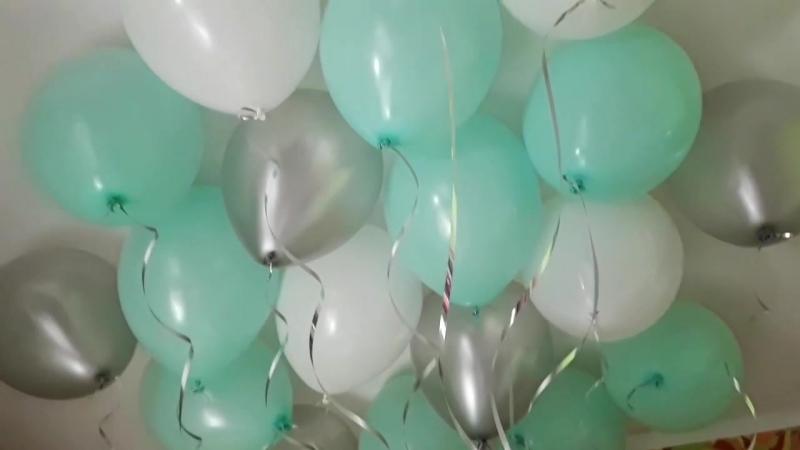 Облако из воздушных шаров. Подбираем ваше любимое сочетание .