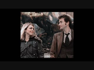 Doctor who × dw × david tennant × rose tyler × billie piper × vine