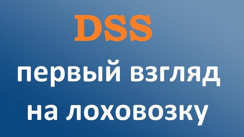 Digital Smart System (dss) - первый взгляд на лоховозку.