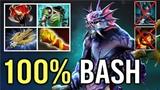 OMG 100 BASH After 3 Hits New 7.20 Slardar Mid Counter PA Clinkz Max Attack Speed WTF Dota 2