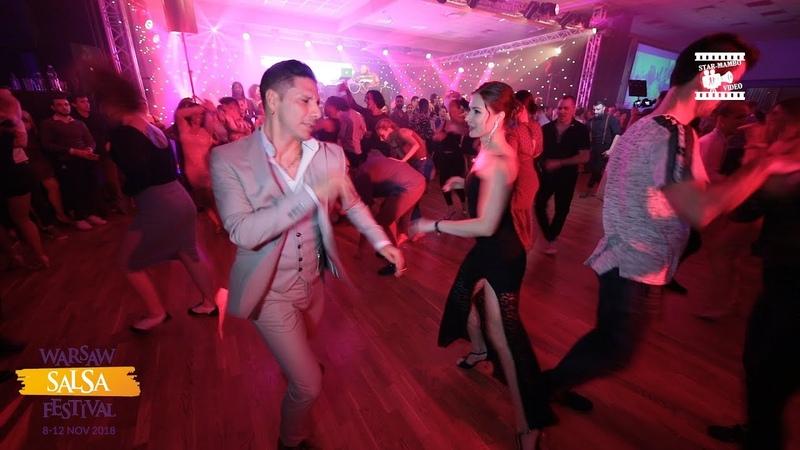 Rodrigo Cortazar Asya - Salsa Social Dancing @ WARSAW SALSA FESTIVAL 2018