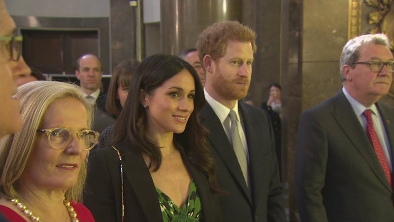 Wedding gifts Prince Harry Meghan Markle given Invictus Games jumpers