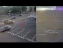 ДТП пл Мира 16 06 18 Автоледи после аварии тормозила иномарку ногами