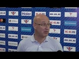 Сергей Орешкин: «Наши лидеры? Они хотят играть в большой хоккей, им надо расти» (24.09.18)