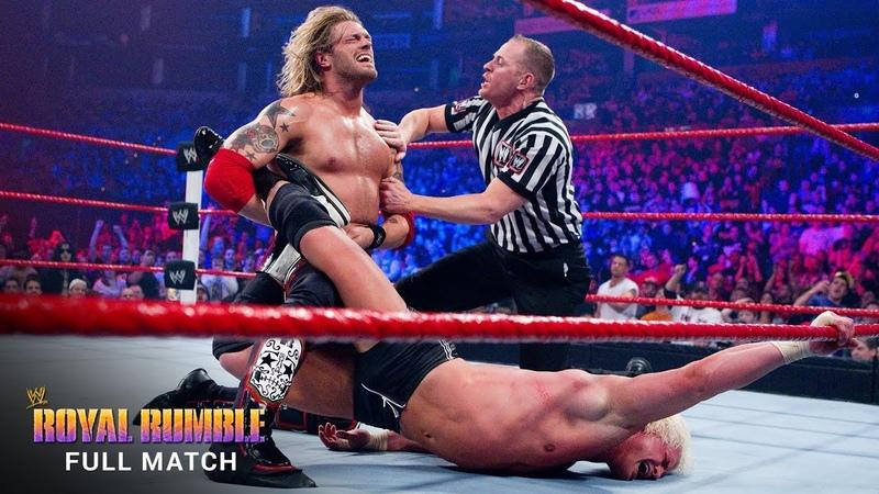 [My1] Edge vs. Dolph Ziggler - WWE World Heavyweight Title Match Royal Rumble 2011