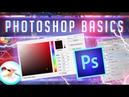 INTRO TO ADOBE PHOTOSHOP - Tutorial - Basics