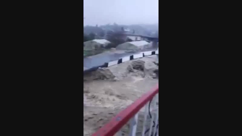 Обрушился мост через реку Чахцуцыр, 6 декабря
