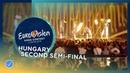 AWS - Viszlát Nyár - Hungary - LIVE - Second Semi-Final - Eurovision 2018