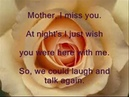 Mother I Miss You Lyric Video by Mel Kennedy