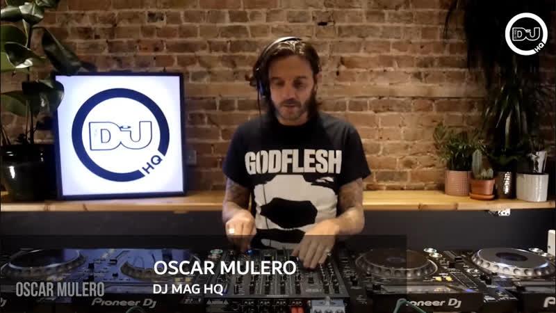Oscar Mulero Live @ DJ Mag HQ 02 11 2018