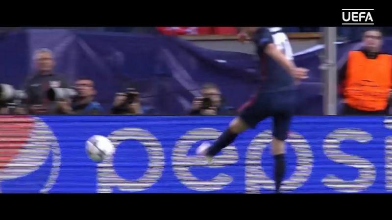Vicente Calderón голы и атмосфера