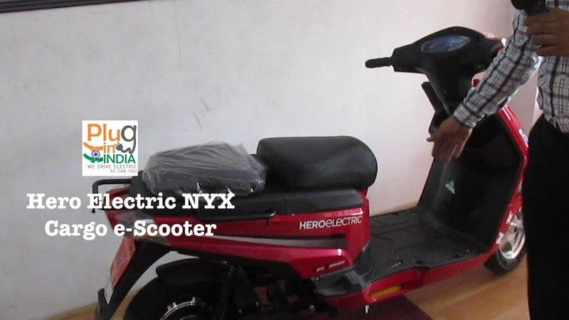 Hero Electric NYX : Cargo e-Scooter