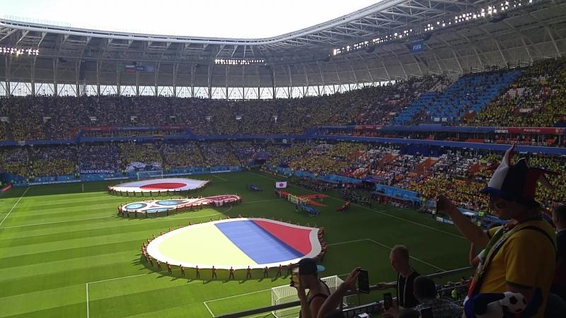 Columbia-Japan. World Cup.