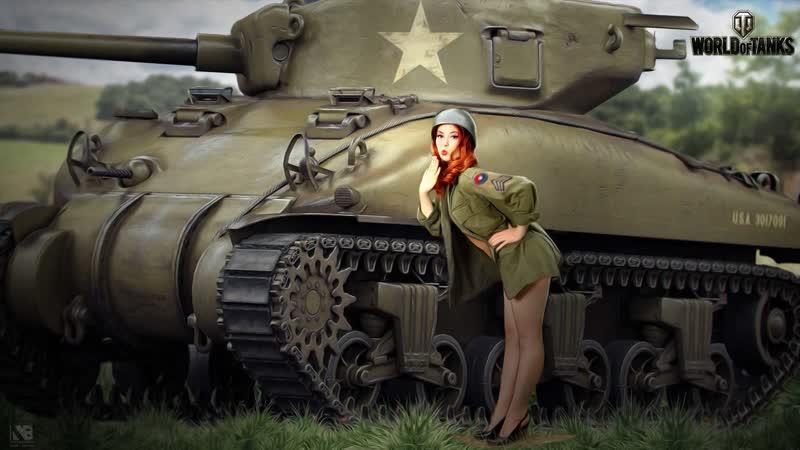 Ночной Стрим World of Tanks