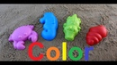 Изучаем цвета на английском языке для маленьких детей играем в песочнице ставим лайки