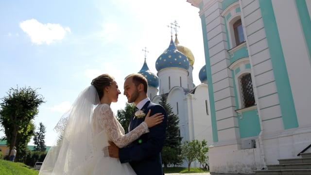 Венчание Константина и Марии в Никольском храме