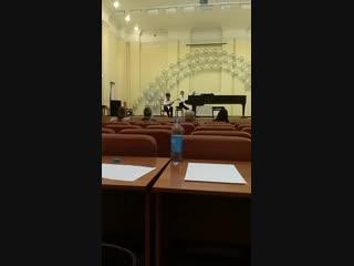 сегодня наслаждаемся концертом в муз. колледде