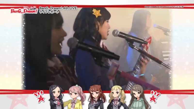 [BanG_Dream! 4th LIVE] Poppin' Party – STAR BEAT! ~Hoshi no Kodou~