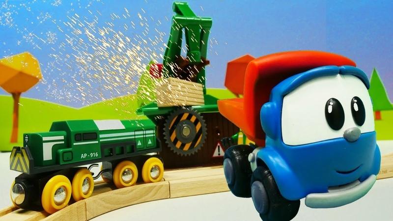 Giochi con i treni giocattoli Brio. Video educativi per bambini