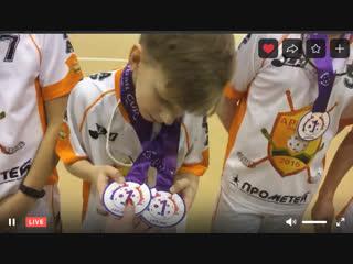 АРМАТА 2008 - 09 ЧЕМПИОН t.Petersburg Floorball Cup   6-8.01.2019 ТОЛЬКО ДЛЯ ДРУЗЕЙ от #фс2019