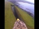Завораживающие виды шотландских скал с высоты птичьего полета