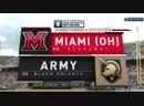 NCAAF 2018 / Week 08 / Miami (OH) RedHawks - Army Knights / 1Н / EN