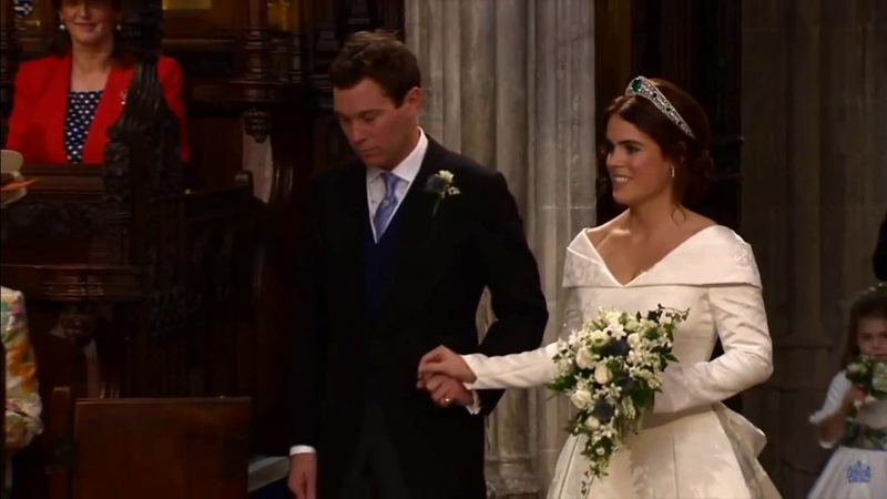 God Save The Queen - The Royal Wedding of Princess Eugenie Jack Brooksbank