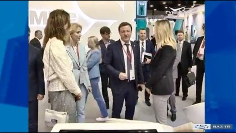 Самарский регион – на ПМЭФ («Новости Тольятти» 24.05.2018)