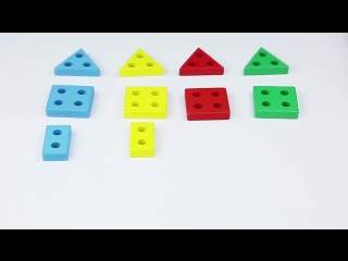 Деревянные детские развивающие игрушки Монтессори раннего детства геометрия столбец 1-2-3 лет формы соответствия строительных бл