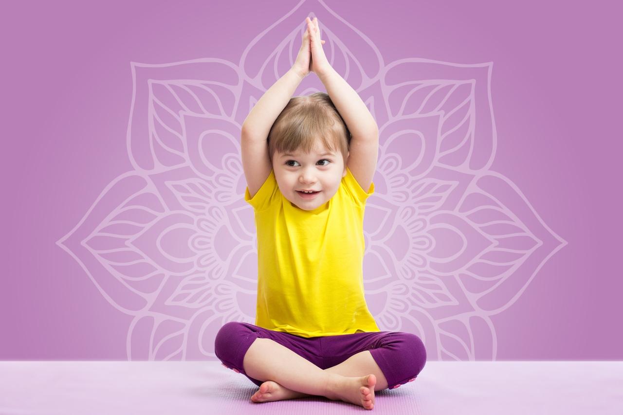 Днем, йога картинки для детей