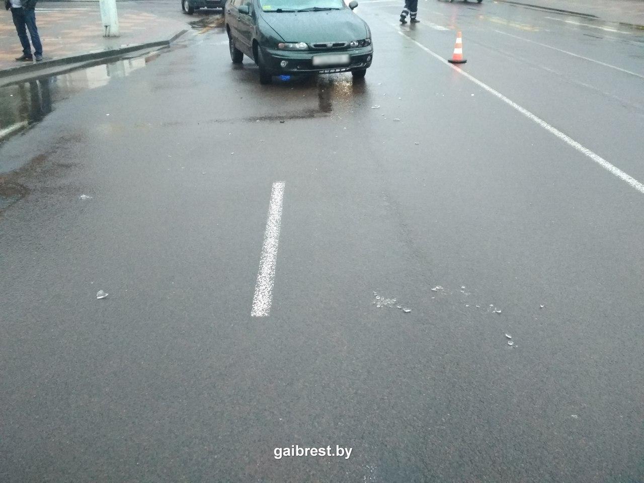 Брест: в результате наезда «Фиат» пострадала женщина