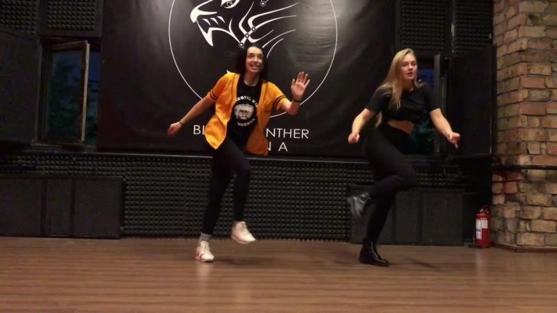 Daha Ice Cream Dasha Ebzeeva | Old School Dancehall routine | ICEPROJECT