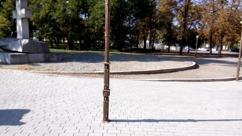 На териториии Соборного сквера в Черкассах