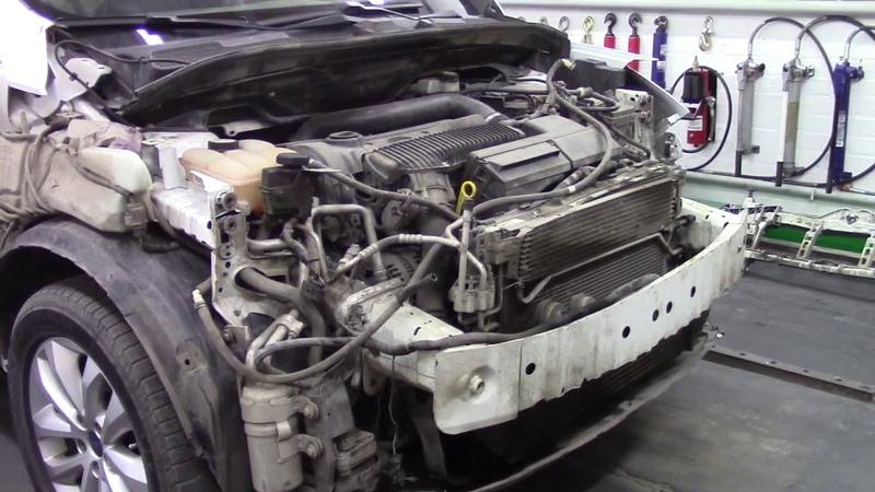Форд Куга, не большой ремонт. Body repair after an accident.