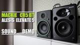 Alesis Elevate 5 MKII vs Mackie CR5 BT Sound Demo w Bass Test