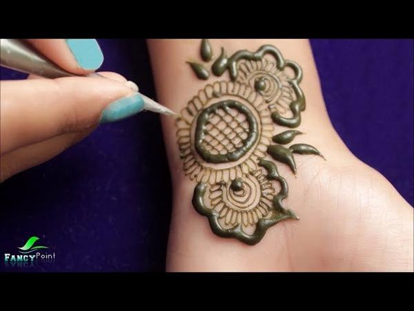 New Stylish Mehndi Design | Latest Mehndi | Backhand Mehndi | Step by Step