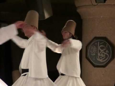 Dervishi dance. cappadocia turkey 2010